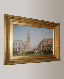 19th century painting of a Venetian scene