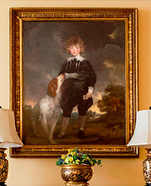 Portrait of the son of the Earl of Stanhope by Edward Hoppner